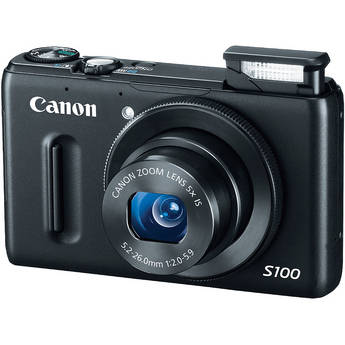 Canon PowerShot S100 point and shoot